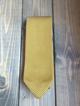 Load image into Gallery viewer, Mustard Yellow Knitted Tie