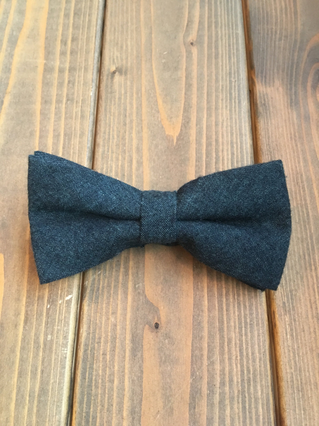 Forest Green Cotton Bow Tie