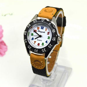 Kids Colorful Quartz Sports Watch for Boys and Girls -- FREE SHIPPING