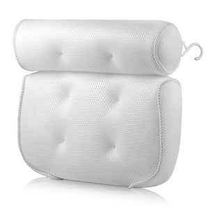 SPA Bath Pillow with Suction Cups Neck and Back Support -- FREE SHIPPING
