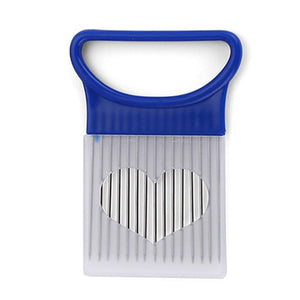 Easy Cut Stainless Steel Onion and Vegetable Fork Slicer Kitchen Tools -- FREE SHIPPING
