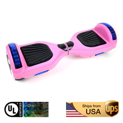 K5 UL2272 Certified Two Wheels Self Balancing Electric Scooter Hoverboard (6.5 inch)