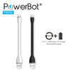 PowerBot® PB302 Micro USB Cable 5.90in / 15cm Data & Charging Cable - SoundBot