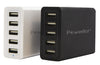 PowerBot® PB5000 40W 8-Amp 5 Port Rapid Charging USB Wall/Desktop Charging Station