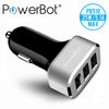PowerBot® PB510 5.1A (2.1A + 2A + 1A) High Performance 3-Port Smart Car Charger