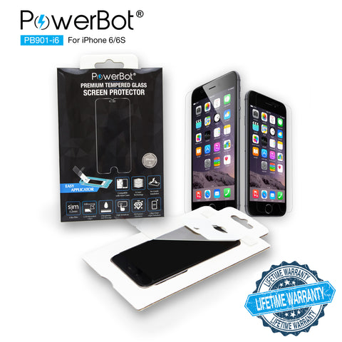 PowerBot® PB901-i6 Ultra Slim 0.2mm Premium Tempered Glass Screen Protector