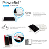 [2PK] PowerBot® PB901-i6 Ultra Slim 0.2mm Premium Tempered Glass Screen Protector