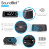 SoundBot® SB1020 Bluetooth Speaker, FM RADIO Dual Alarm Clock, 3W Stereo Speaker, 2.1A USB Charging Port, 3.5mm AUX Line In Jack, LED Night Light, Snooze Button, for Home/Office, SmartPhone, Media Players, Laptop/Desktop PC, and Tablets - SoundBot