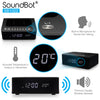 SoundBot® SB1022 FM RADIO Alarm Clock Charging Station With Bluetooth Speaker