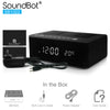 SoundBot® SB1022 FM RADIO Alarm Clock Charging Station With Bluetooth Speaker - SoundBot