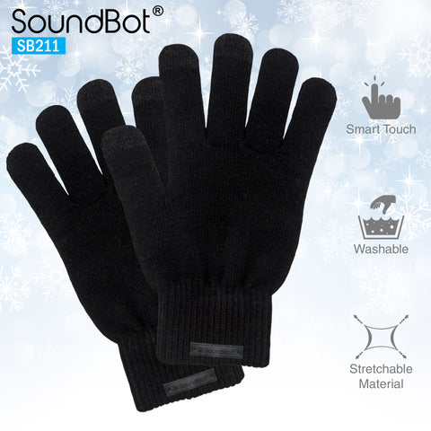 SoundBot® SB211 Smart Screen Gloves