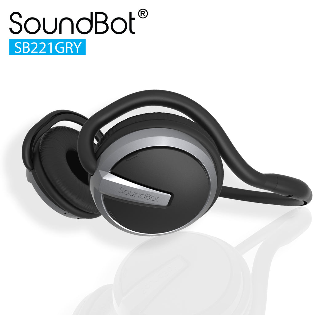 SoundBot® SB221 Bluetooth Headphone Wireless Headset - SoundBot
