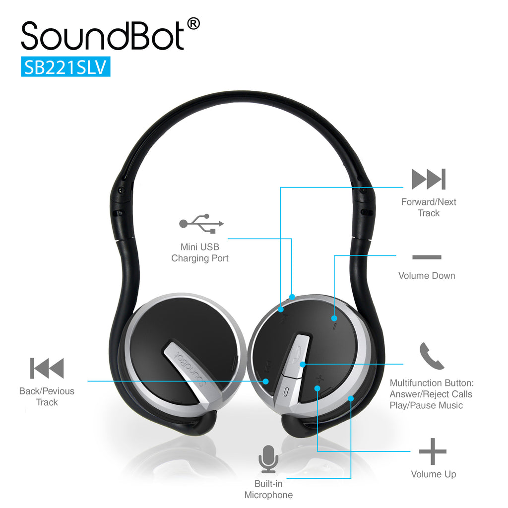 Soundbot Sb221 Bluetooth Headphone Wireless Headset Circuit Diagram