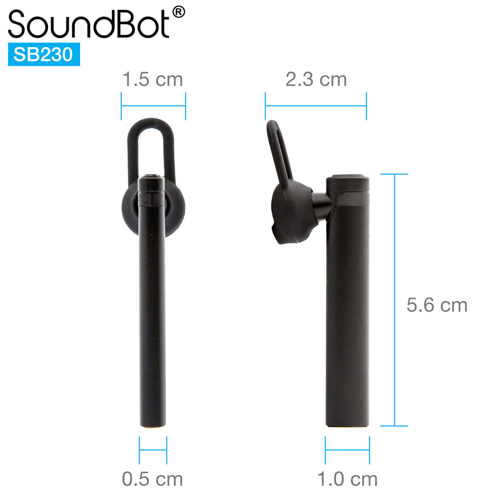 SoundBot® SB230 Mono Headphone