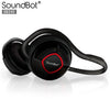 SoundBot® SB240 Kermes Red Bluetooth Headphone Wireless Headset for Music Streaming & HandsFree Calling for 20 Hours of Talk Time, 400 Hours of Standby Time w/ MicroUSB Charging Port & Cable Included - SoundBot