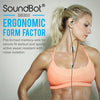 SoundBot® SB303 Secure Fit Sports Active Earphone w/ Memory Frame & Human Engineering Design