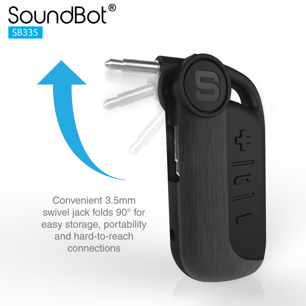 SoundBot® SB335 Universal Wireless Bluetooth Stereo Receiver Audio Adapter