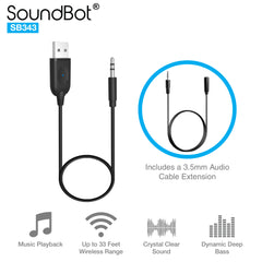 SB343 Bluetooth Audio Receiver