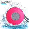 SoundBot® SB510FM FM Radio Shower Speaker Water Resistant Wireless - SoundBot