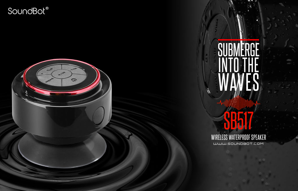 SoundBot SB517 IPX7 Water-Proof Bluetooth Speaker - SoundBot