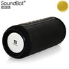 SoundBot® SB525 Bluetooth 4.0 Wireless Speaker for 12 hrs Music Streaming & Hands-Free Calling w/ Passive sub woofer, 7W + 7W Driver Speakerphone, Built-in Mic, 3.5mm Audio Port, 4000mAh Lithium-ion Rechargeable Battery for Indoor & Outdoor Use - SoundBot