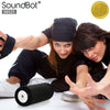 SoundBot® SB525 Bluetooth 4.0 Speaker 12 hrs Music Streaming&Hands-Free Calling,Built-in Mic&3.5mm