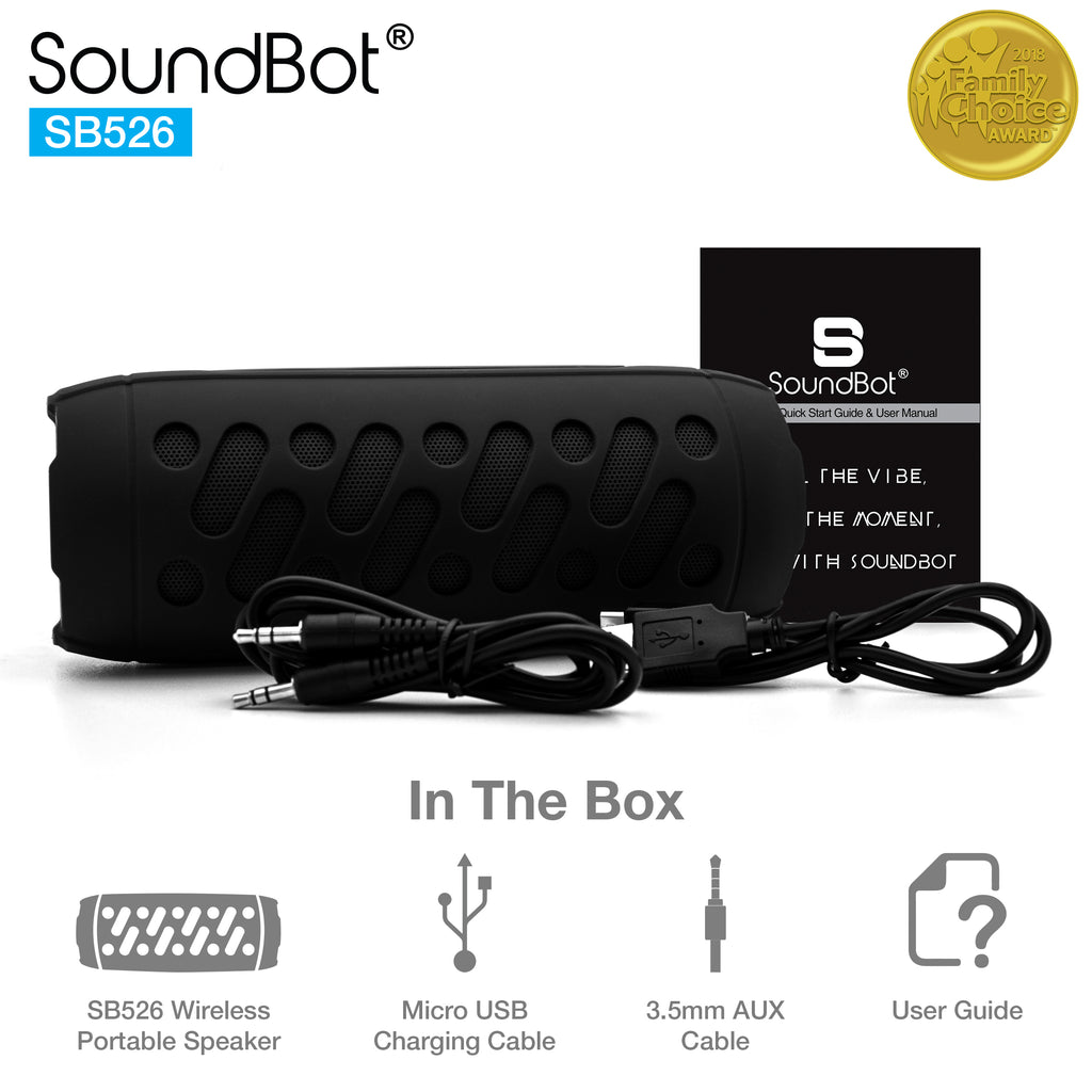 SoundBot® SB526 Bluetooth 4.1 Speaker