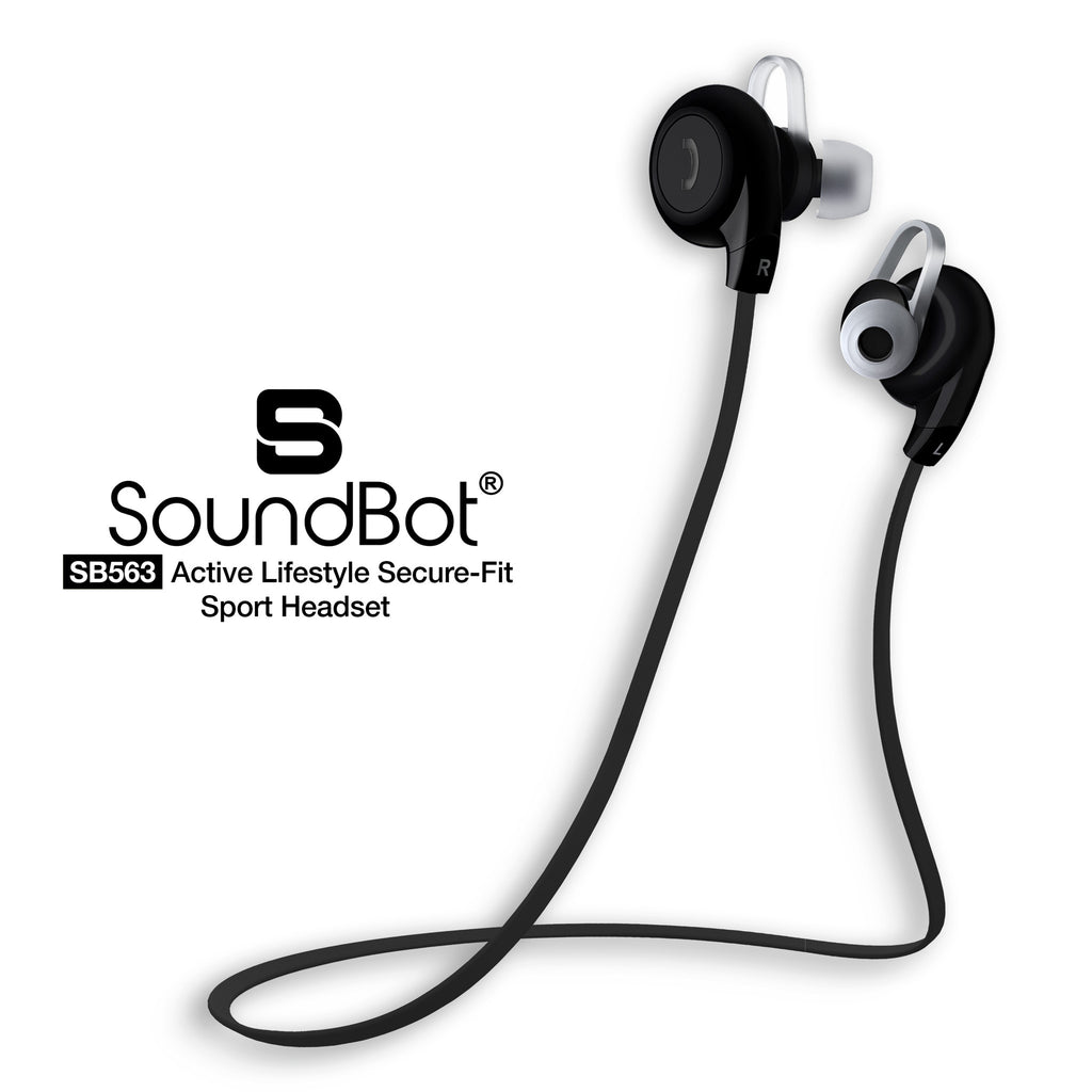 b75dd7ded8f SB563 Bluetooth Stereo Sports Headset Sports Earbud | SoundBot