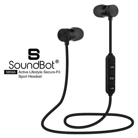 SoundBot® SB566 Bluetooth Sports Wireless Earbud