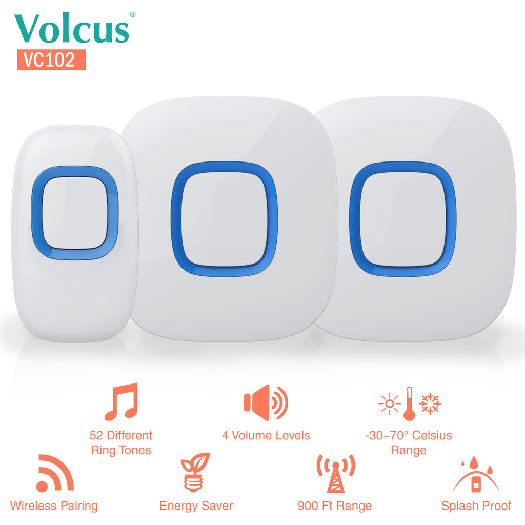 Volcus® VC102 Wireless Smart Doorbell