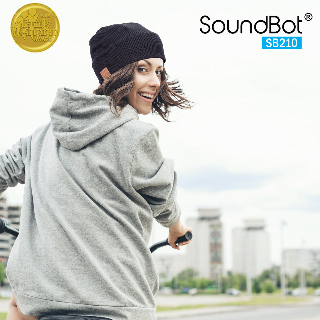 SoundBot® SB210 Bluetooth Wireless Musical Headset Beanie