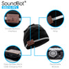 SoundBot® SB210-RFL Bluetooth Wireless Musical Reflective Beanie