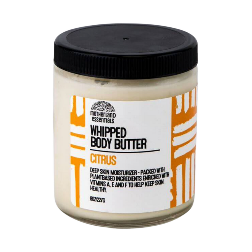 Citrus Whipped Body Butter By Motherland Essentials