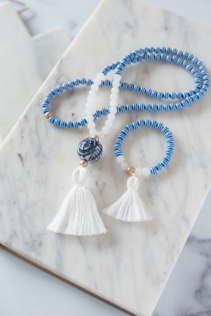 The Poulnot Tassel Necklace