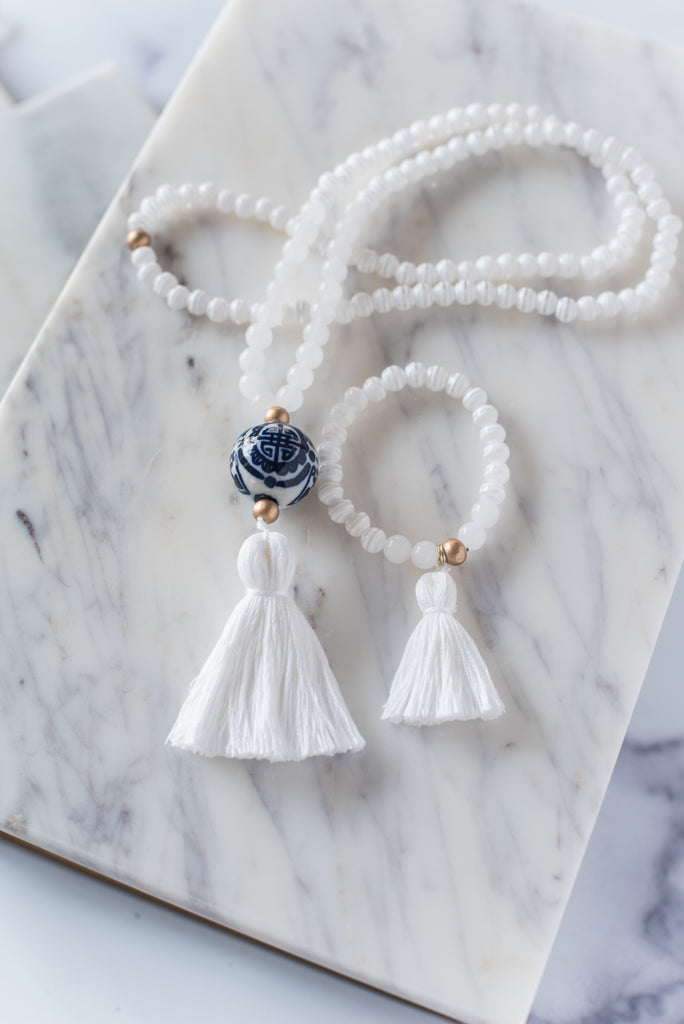 The Humphrey Tassel Necklace