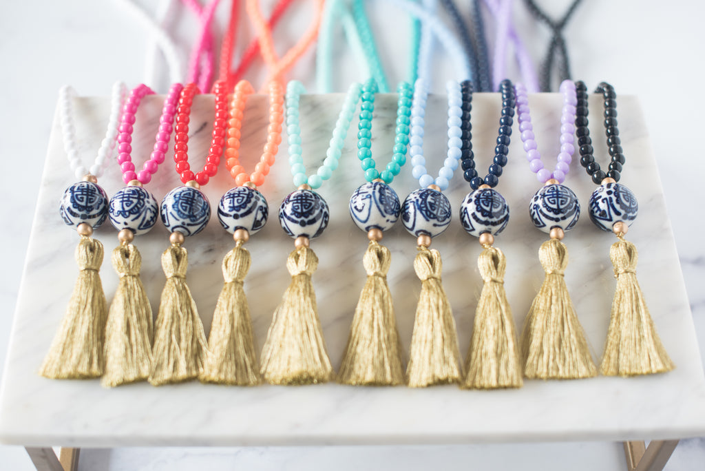 The Radcliffe Tassel Necklace