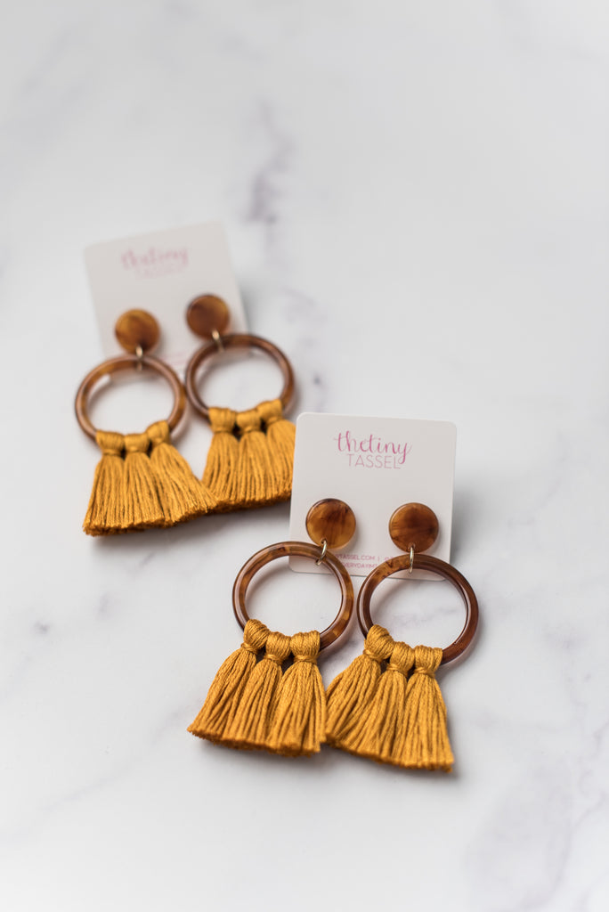 The Middleton Tassel Earring