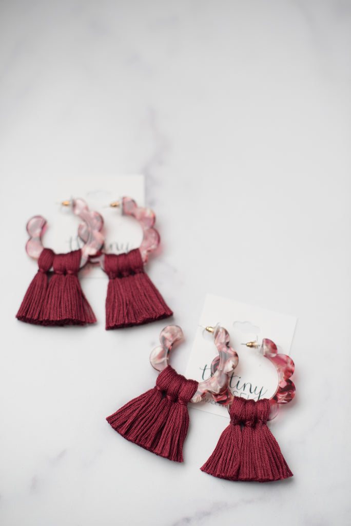 The Yates Tassel Earring