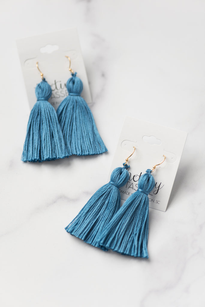 The Dewey Tassel Earring
