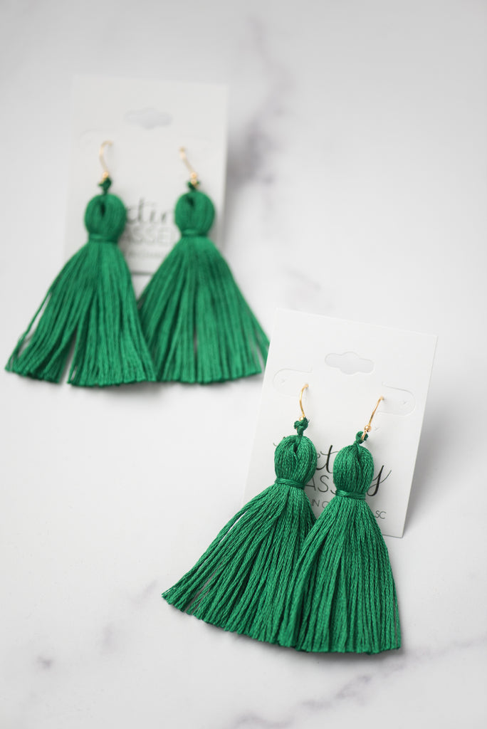 The Poplar Tassel Earring