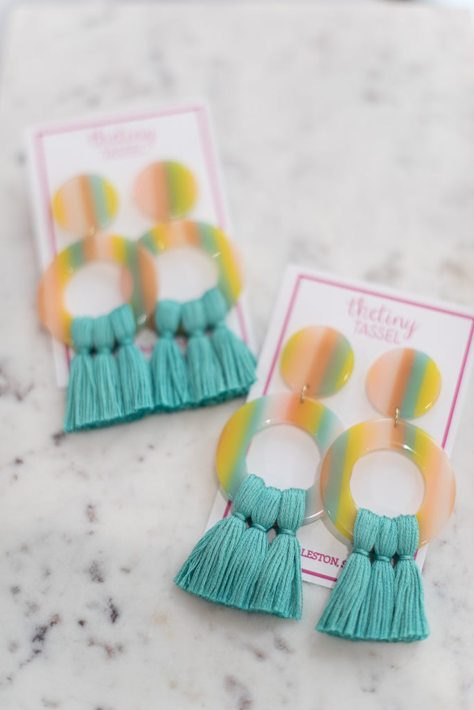 The Massie Tassel Earring