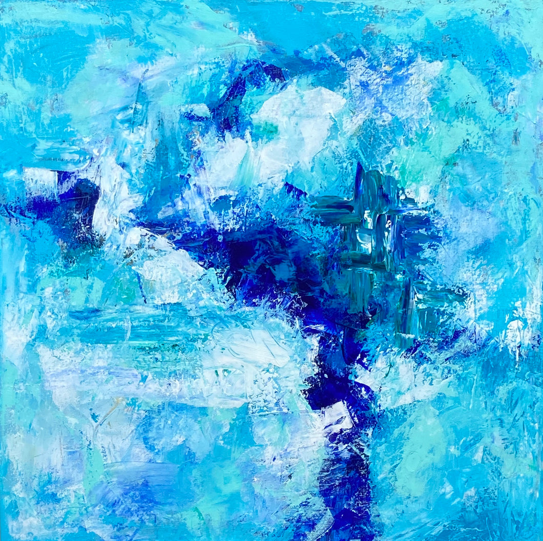 Saltwater 30x30 Acrylic on Canvas
