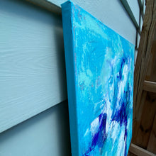 Load image into Gallery viewer, Saltwater 30x30 Acrylic on Canvas