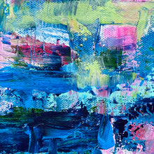 Load image into Gallery viewer, Sharing Similarities 36x18 Acrylic on Canvas