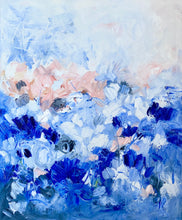 Load image into Gallery viewer, Pretty In Blue 20x24 Oil on Canvas