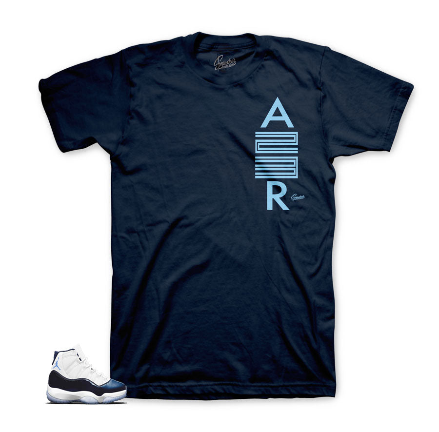 Jordan 11 win like 82 air 23 shirt to match shoes.
