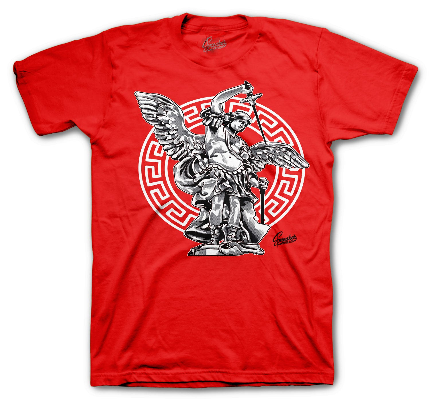 Jordan 12 Super Bowl Shirt - St. Michael - Red
