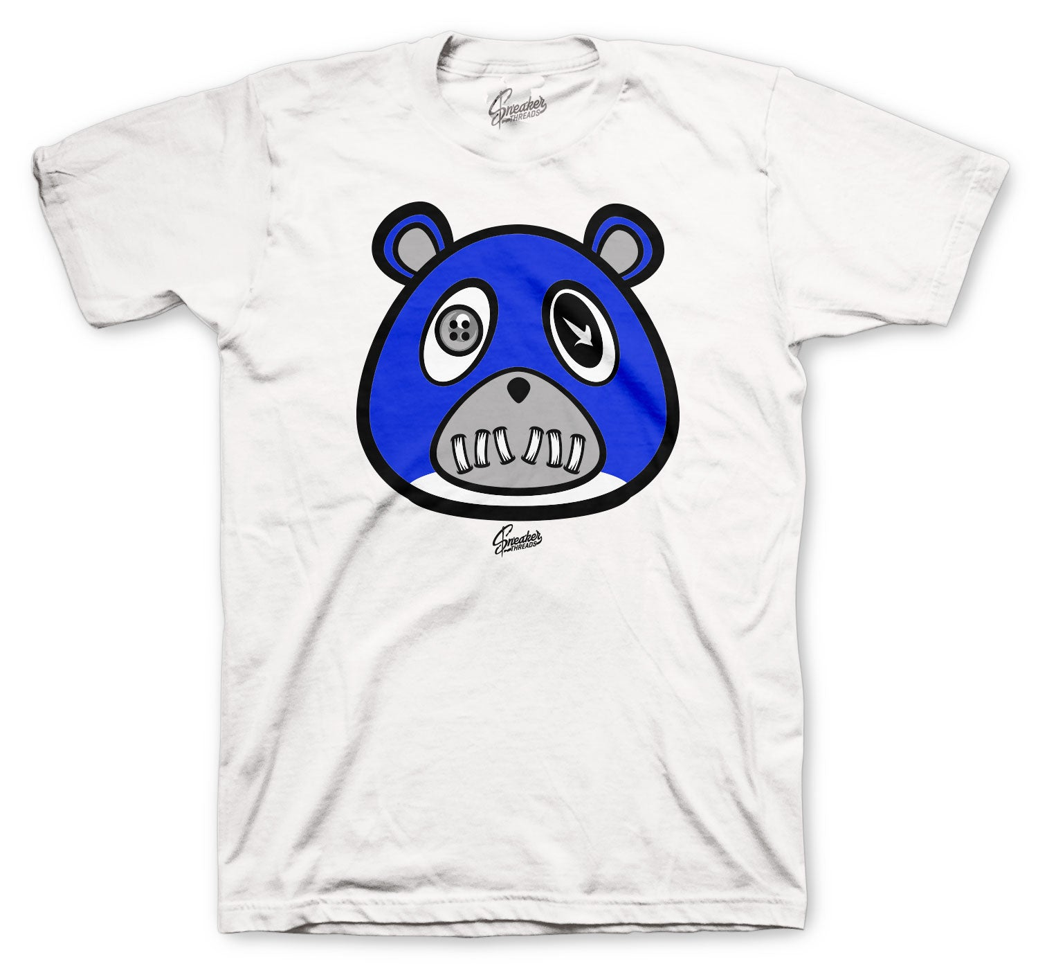 Jordan 14 Hyper Royal Shirt - ST Bear - White