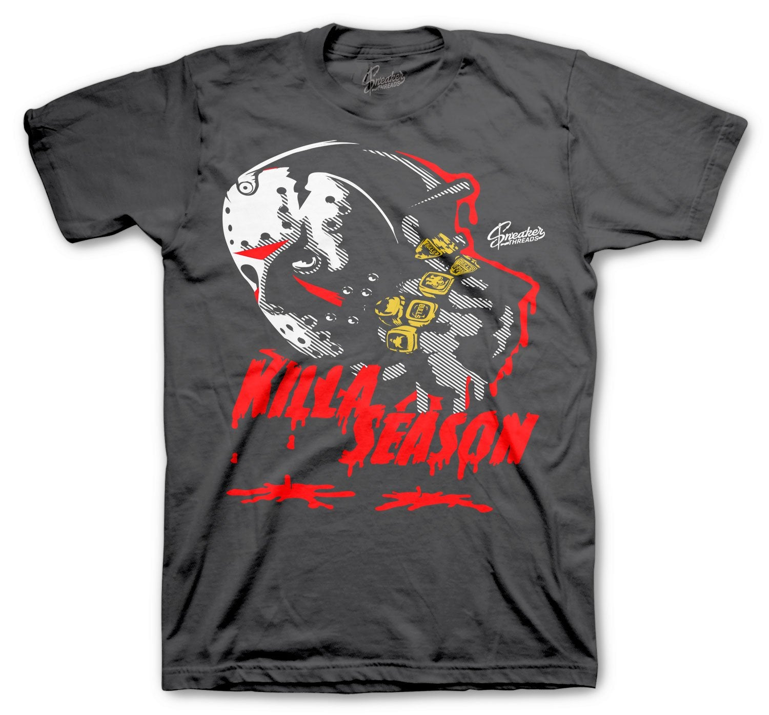 Killer Graphic tees to match Jordan 12 Dark Grey