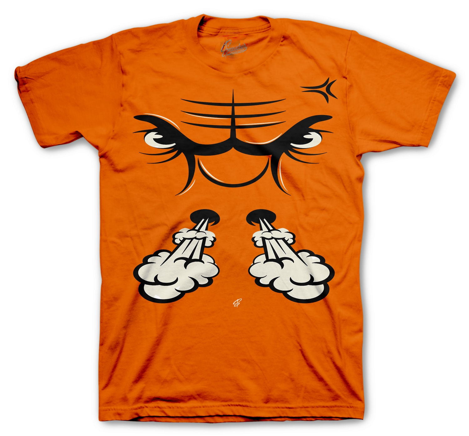 Jordan Starfish Shirt - Raging Face - Orange